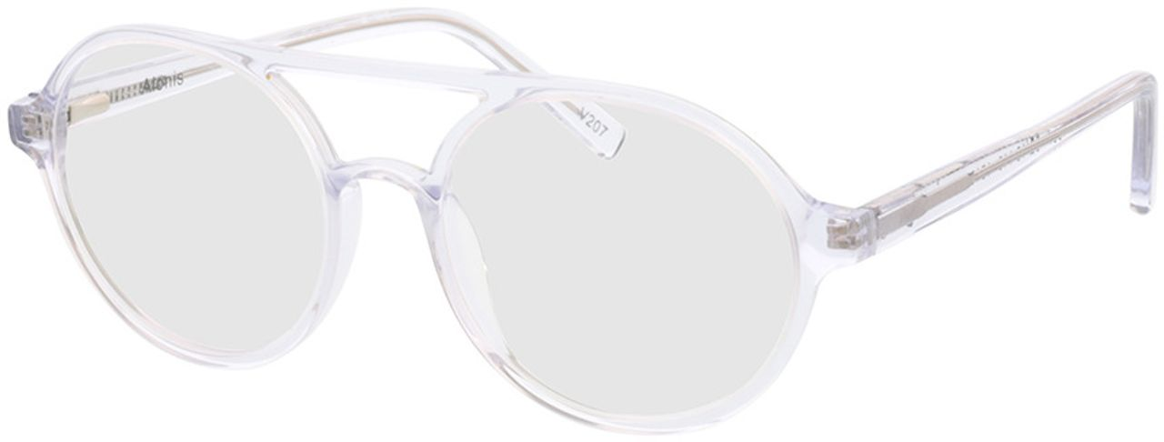 Picture of glasses model Alonis-transparent in angle 330