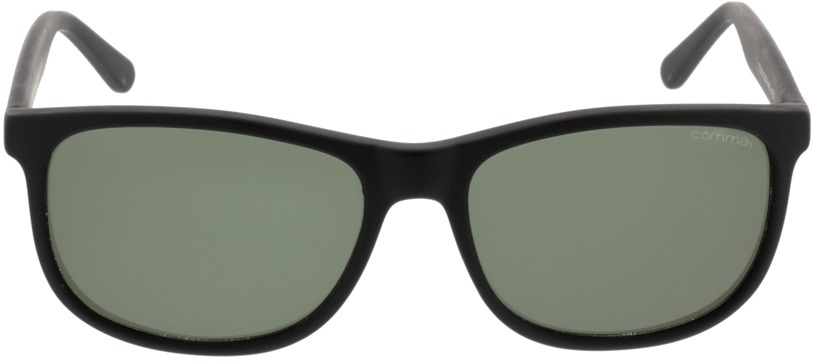 Picture of glasses model Comma, 77043 30 schwarz 55-16 in angle 0