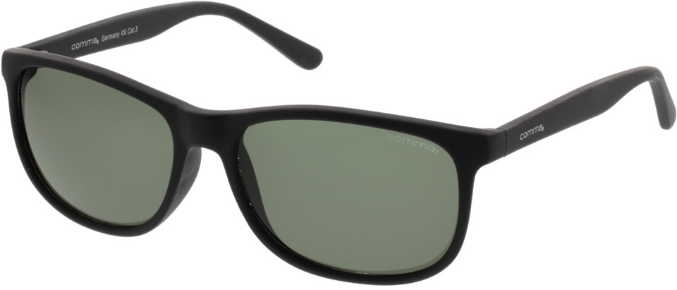 Picture of glasses model Comma, 77043 30 schwarz 55-16 in angle 330