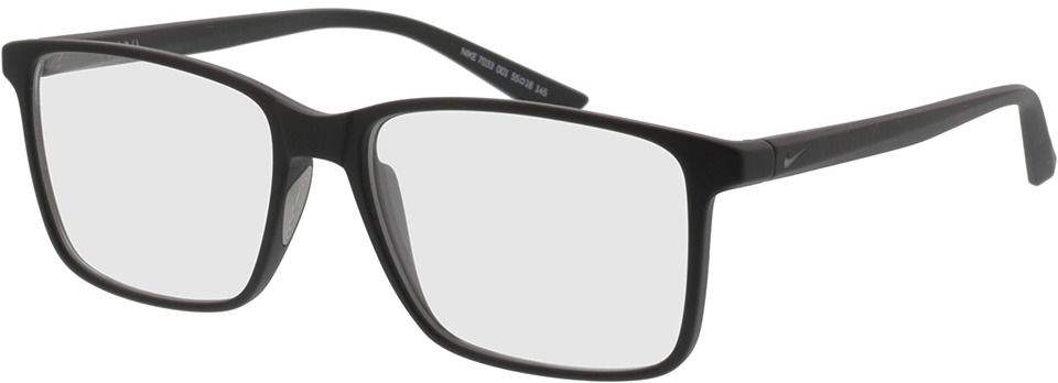Picture of glasses model Nike 7033 001 55-16 in angle 330