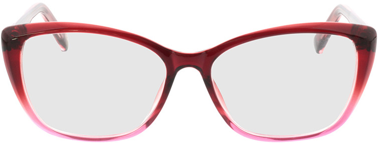 Picture of glasses model Andania rood roos cursus in angle 0