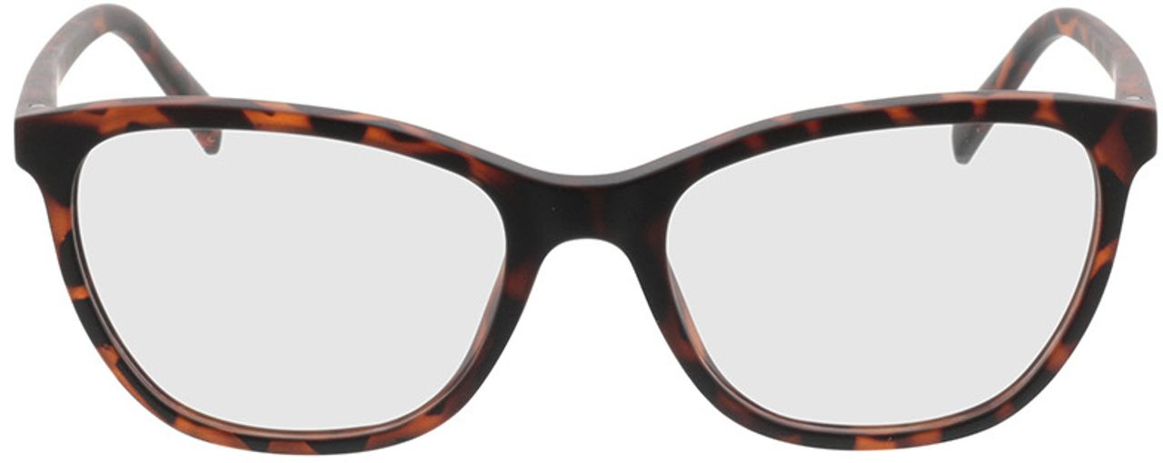 Picture of glasses model Salvia-braun-meliert in angle 0