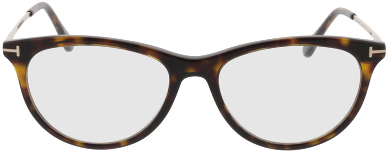 Picture of glasses model Tom Ford FT5509 052 in angle 0