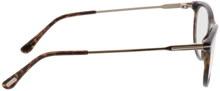 Picture of glasses model Tom Ford FT5509 052 in angle 90