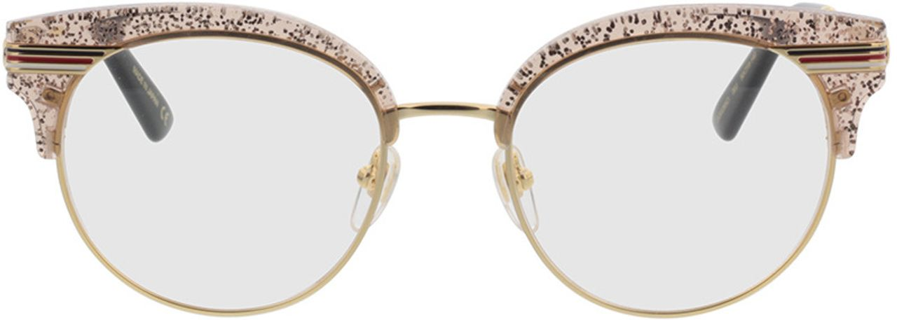 Picture of glasses model Gucci GG0285O-003 50-19  in angle 0