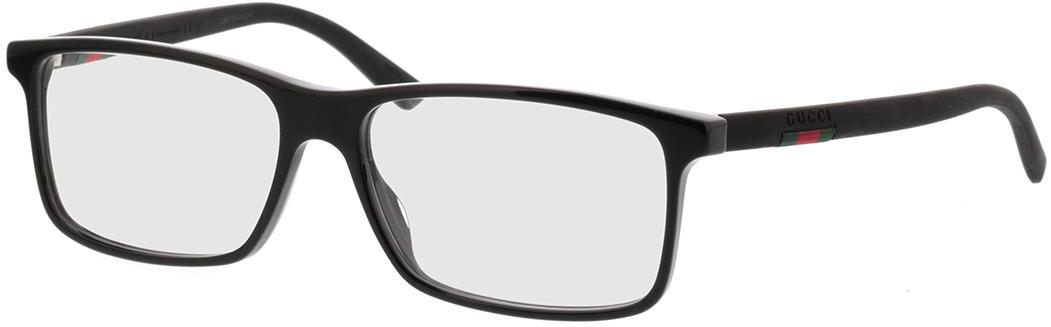 Picture of glasses model Gucci GG0424O-005 58-16 in angle 330