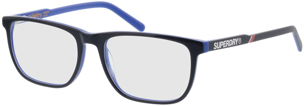 Picture of glasses model Superdry SDO Conor 106 blue 55-17 in angle 330