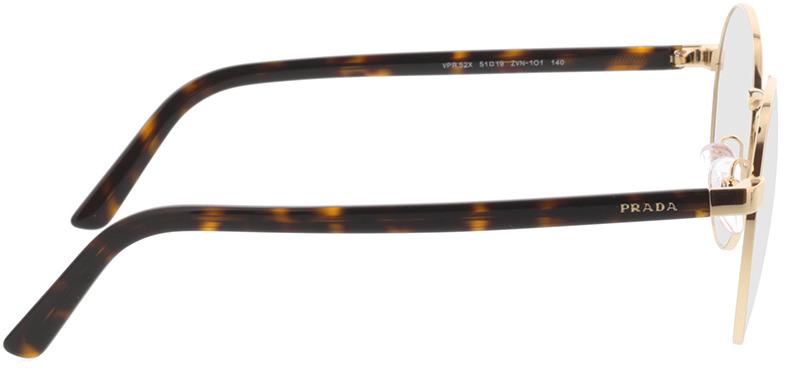 Picture of glasses model Prada PR 52XV ZVN1O1 51-19 in angle 90