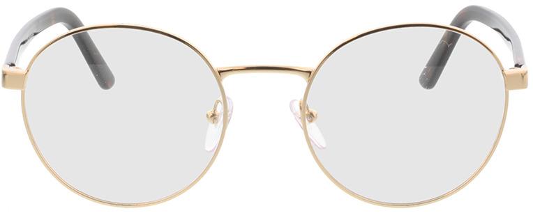 Picture of glasses model Prada PR 52XV ZVN1O1 51-19 in angle 0