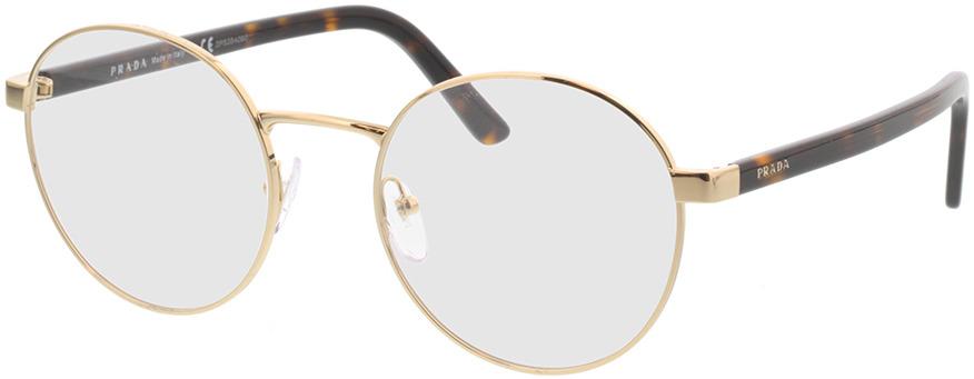Picture of glasses model Prada PR 52XV ZVN1O1 51-19 in angle 330