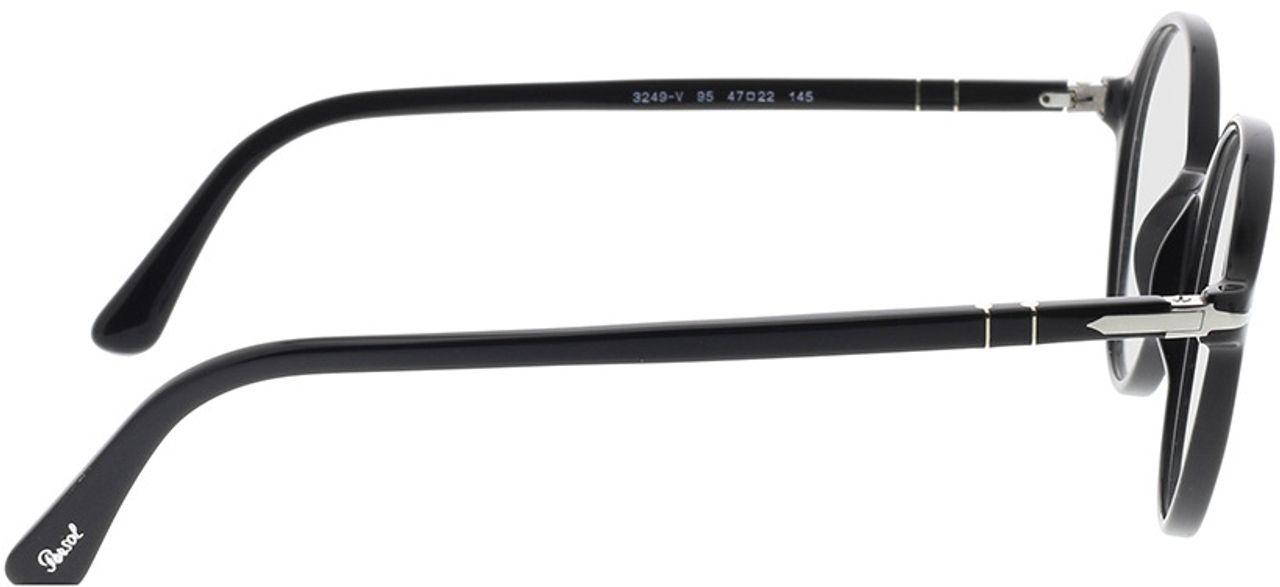 Picture of glasses model Persol PO3249V 95 47-22 in angle 90