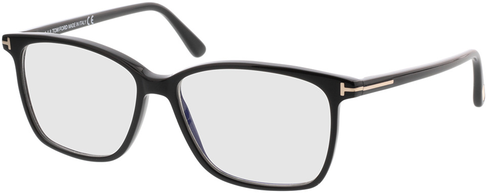 Picture of glasses model Tom Ford FT5478-B 001 in angle 330