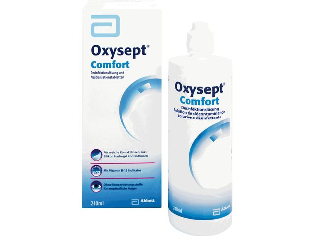 Oxysept Comfort Premium Pack 900ml + NaCL 120ml
