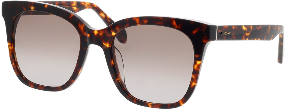 Picture of glasses model Fossil FOS 2098/G/S 086 53-20 in angle 330