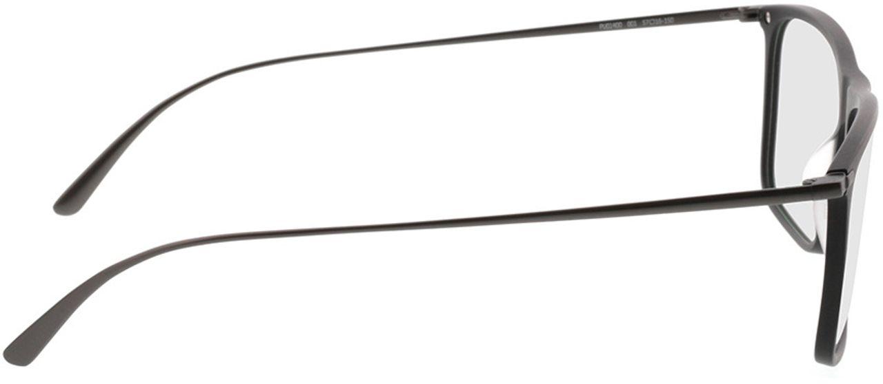 Picture of glasses model Puma PU0140O 001 57-16 in angle 90