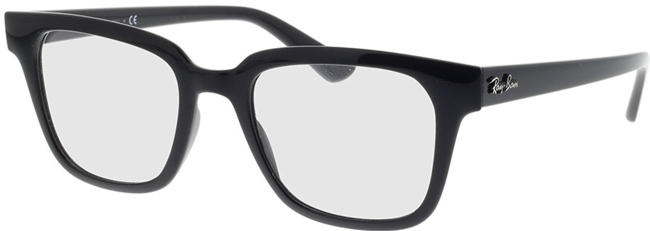 Picture of glasses model Ray-Ban RX4323V 2000 51-20 in angle 330