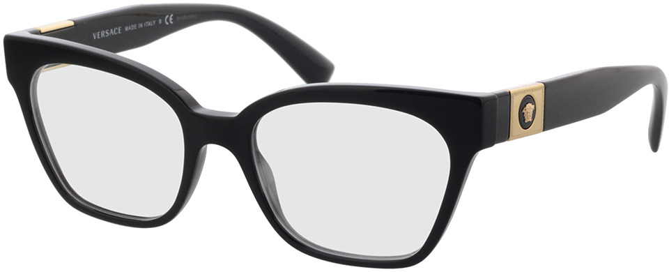 Picture of glasses model Versace VE3294 GB1 53-18 in angle 330