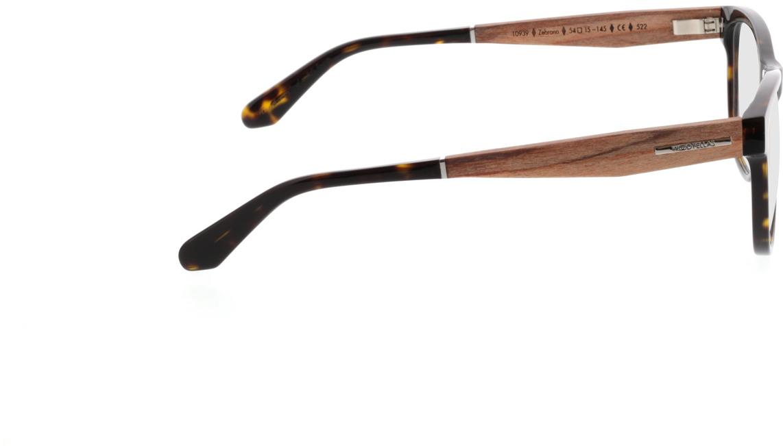 Picture of glasses model Wood Fellas Optical Wildenau zebrano 54-15 in angle 90
