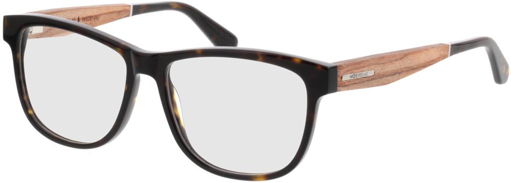 Picture of glasses model Wood Fellas Optical Wildenau zebrano 54-15 in angle 330