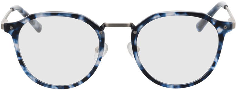 Picture of glasses model Juno-blau-meliert in angle 0