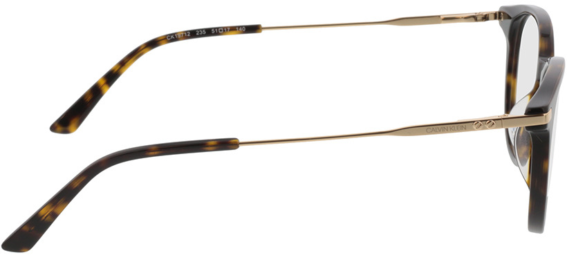 Picture of glasses model Calvin Klein CK19712 235 51-17 in angle 90