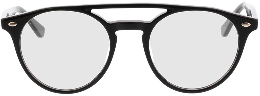 Picture of glasses model Tumut-schwarz in angle 0
