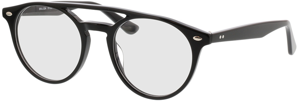 Picture of glasses model Tumut-schwarz in angle 330