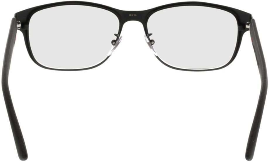 Picture of glasses model Gucci GG0013O-001 55-16 in angle 180
