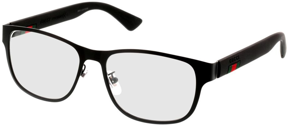 Picture of glasses model Gucci GG0013O-001 55-16 in angle 330
