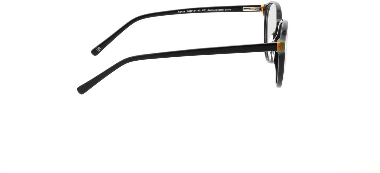Picture of glasses model Quinto-schwarz in angle 90