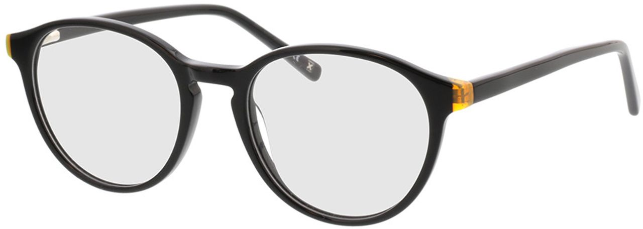 Picture of glasses model Quinto-schwarz in angle 330