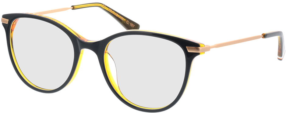 Picture of glasses model Superdry SDO Shika 107 blauw/gelb 50-18 in angle 330