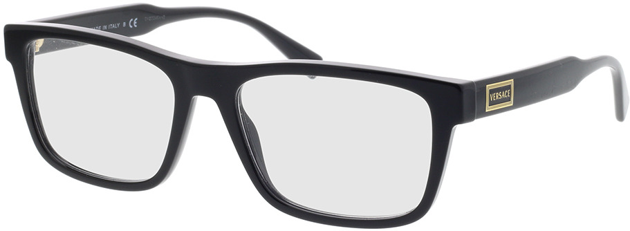 Picture of glasses model Versace VE3277 GB1 55-17 in angle 330