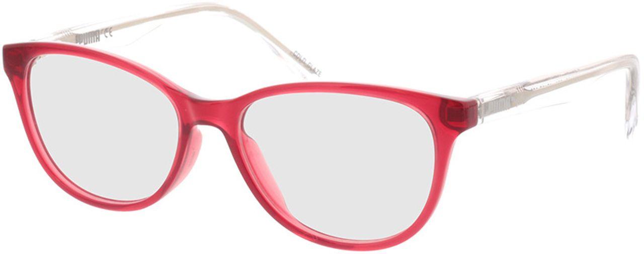 Picture of glasses model Puma PJ0018O-004 48-15 in angle 330