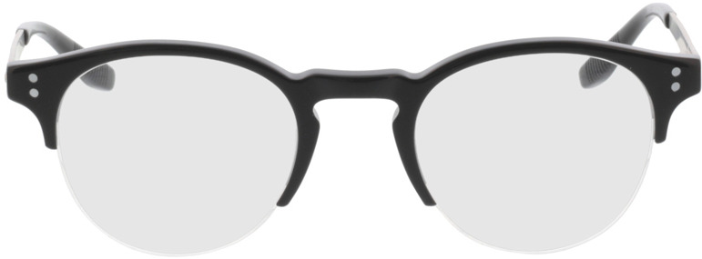 Picture of glasses model Paolo-schwarz in angle 0