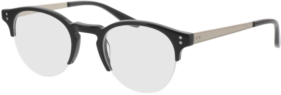 Picture of glasses model Paolo-schwarz in angle 330