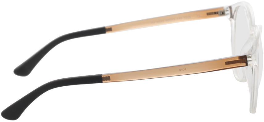 Picture of glasses model Toro-transparent in angle 90