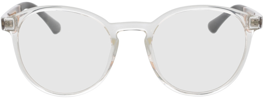 Picture of glasses model Toro-transparent in angle 0
