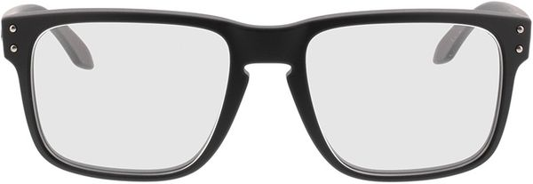 Picture of glasses model Oakley Holbrook Rx OX8156 01 54-18 in angle 0