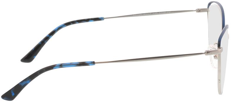 Picture of glasses model Juna-silber/blau in angle 90
