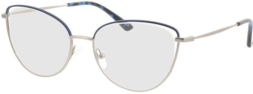 Picture of glasses model Juna-silber/blau in angle 330