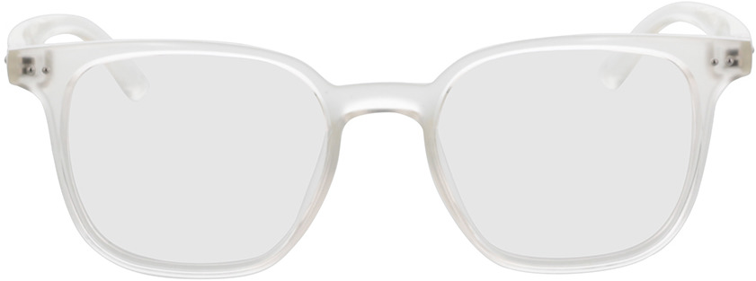 Picture of glasses model Castro-transparent in angle 0