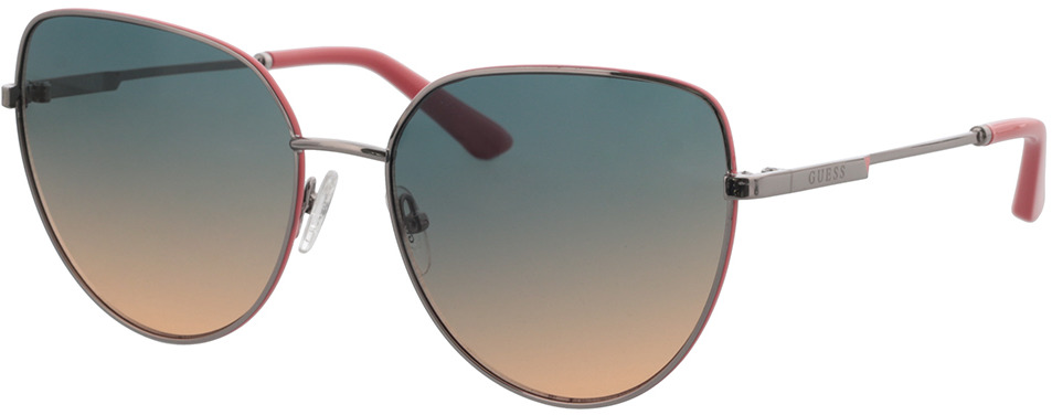 Picture of glasses model Guess GU7784 08B 59-17 in angle 330