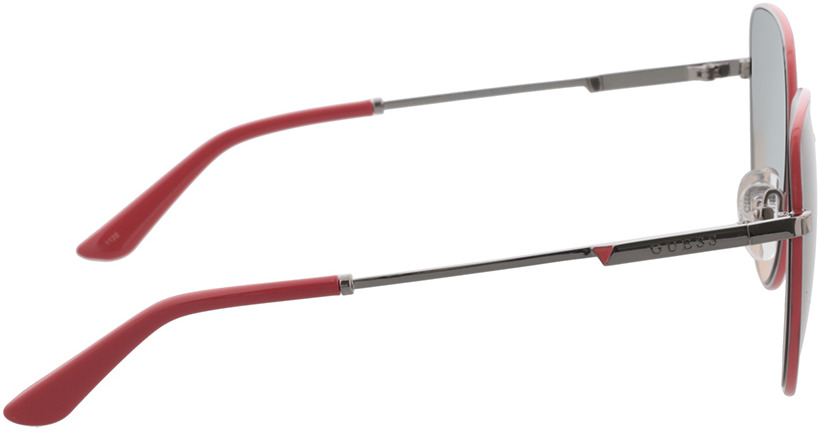 Picture of glasses model Guess GU7784 08B 59-17 in angle 90