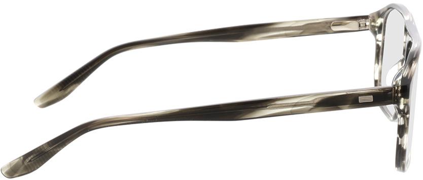 Picture of glasses model Vasco-khaki horn in angle 90