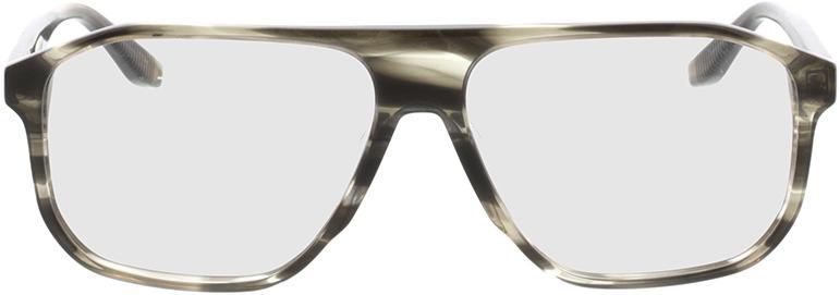 Picture of glasses model Vasco-khaki horn in angle 0