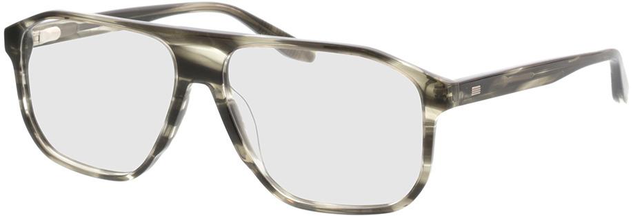 Picture of glasses model Vasco-khaki horn in angle 330