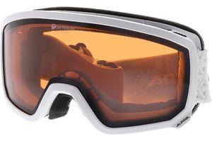 Alpina Skibrille SCARABEO S QH White QUATTROFLEX hicon