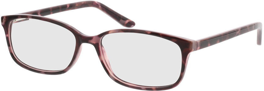 Picture of glasses model Luana-lila-meliert in angle 330