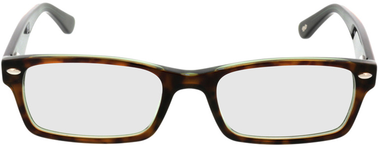 Picture of glasses model Ray-Ban RX5206 2445 52-18 in angle 0